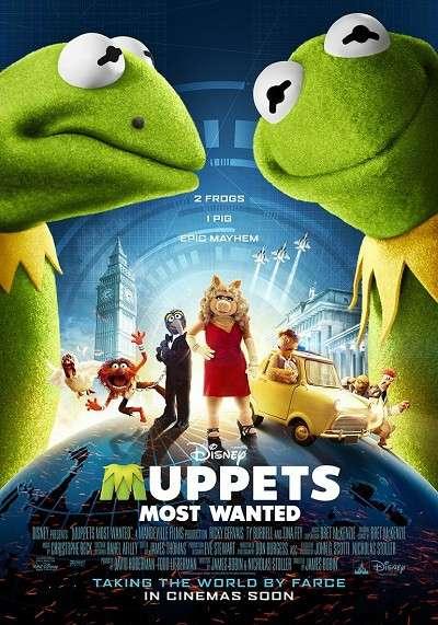 Muppets Aranıyor - Muppets Most Wanted - 2014 Türkçe Dublaj MKV indir