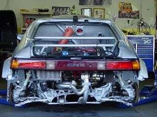 crazy honda engine swaps
