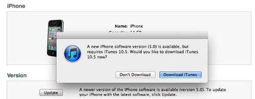 download itunes 10.5