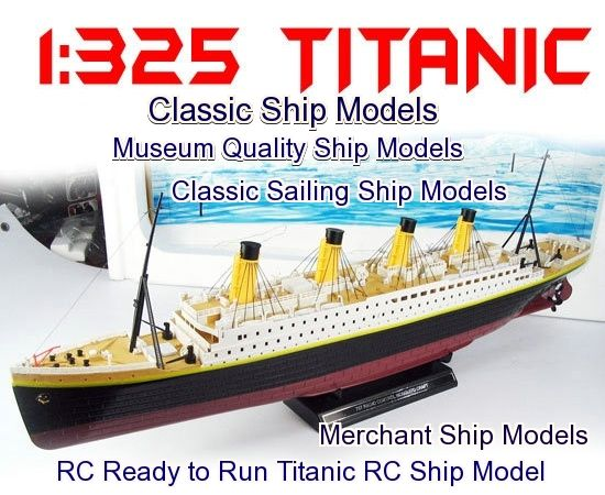 classic ship models ready to run rc