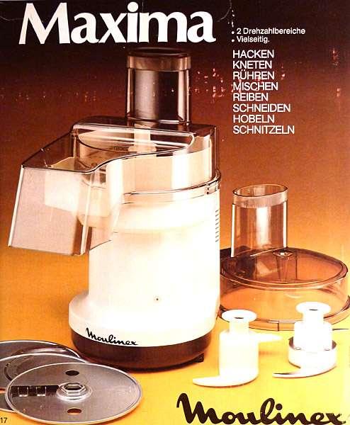 moulinex maxima la grande machine vintage food processor new in box ebay. Black Bedroom Furniture Sets. Home Design Ideas