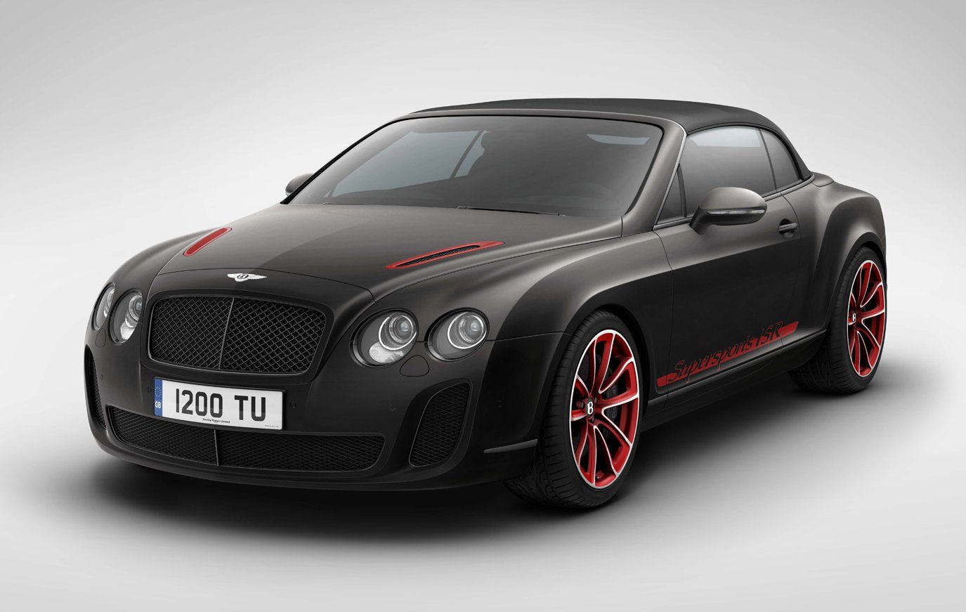 power cars bentley continental gt supersports convertible ice speed record. Black Bedroom Furniture Sets. Home Design Ideas