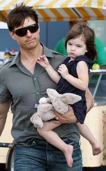 Tom Cruise y su hija Suri Cruise